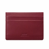 [디랩]D.LAB JY Simple card wallet - red 카드지갑