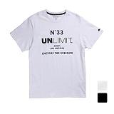 [언리미트]Unlimit - N.33 Tee Ver2 (2color) 반팔티셔츠