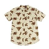 [폴러스터프]POLER STUFF - S/S Ferns Shirt (Stone Ferns Print)