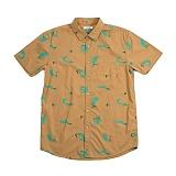 [폴러스터프]POLER STUFF - S/S Surfy Shirt (Stone Surf Print)