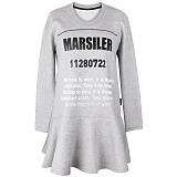 [마실러]MARSILER - 11280722 MOP Gray 원피스