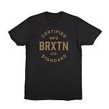 [브릭스톤]BRIXTON - Cane S/S Stan Tee (Black/Gold) 반팔티셔츠