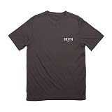 [브릭스톤]BRIXTON - Cane S/S Prem Tee (Washed Black) 반팔티셔츠