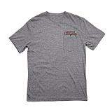 [브릭스톤]BRIXTON - Wanderer S/S Pkt Tee (Heather Grey) 반팔티셔츠