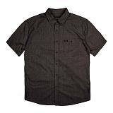 [브릭스톤]BRIXTON - Central S/S Woven (Black Chambray) 반팔 남방 셔츠