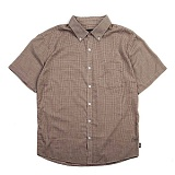 [브릭스톤]BRIXTON - Arthur S/S Woven (Taupe) 반팔 남방 셔츠