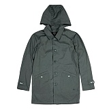 [브릭스톤]BRIXTON - Fairdays Coat (Olive) 모자탈부착 싱글코트 자켓