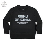 [레이쿠키즈] reiku kids original typo mtm black 맨투맨