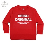 [레이쿠키즈] reiku kids original typo mtm red 맨투맨