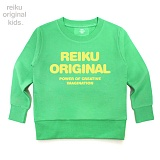[레이쿠키즈] reiku kids original typo mtm green 맨투맨