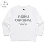 [레이쿠키즈] reiku kids original typo mtm white 맨투맨