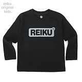 [레이쿠키즈] reiku kids round box long black 롱 긴팔티