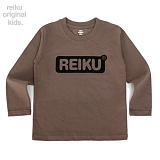 [레이쿠키즈] reiku kids round box long brown 롱 긴팔티