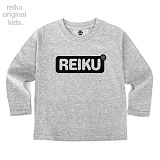 [레이쿠키즈] reiku kids round box long gray 롱 긴팔티