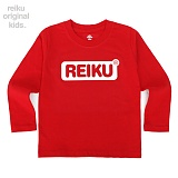 [레이쿠키즈] reiku kids round box long red 롱 긴팔티