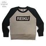 [레이쿠키즈] reiku kids round box two tone mtm bc 배색 맨투맨