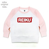 [레이쿠키즈] reiku kids round box two tone mtm pw 배색 맨투맨