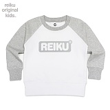 [레이쿠키즈] reiku kids round box two tone mtm gw 배색 맨투맨