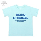 [레이쿠키즈] reiku kids original typo short sky 반팔티