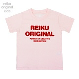 [레이쿠키즈] reiku kids original typo short pink 반팔티