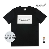 [리오그램] REOGRAM - SECRET GARDEN T SHIRTS (Black) HB-3