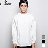 [뉴해빗]NUHABIT [N] - BASIC LINE L/TEE - 무지긴팔 티셔츠 롱 슬리브 - 3COLOR