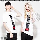 [NUEVO] 누에보 TEE NST-544 반팔티 티셔츠