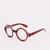 [옵틱스뮤지엄]OPTICSMUSEUM - NORTON ROUND GLASSES (BROWN)