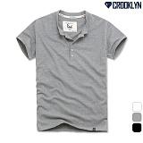 [크루클린] CROOKLYN 헨리넥5P 반팔 티셔츠 THS143 반팔티