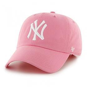 47브랜드 - MLB모자 뉴욕 양키즈 핑크화이트(한정모델)_볼캡 모자