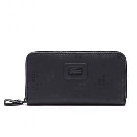 [라코스테]LACOSTE - Womens Classic Large Zip Wallet NF1262WM-035 (Black Iris)