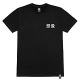 [레이쿠] reiku original sangsang short black 반팔티