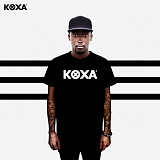 [코싸] koxa mix logo short black 반팔티