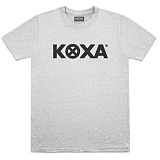 [코싸] koxa mix logo short gray 반팔티