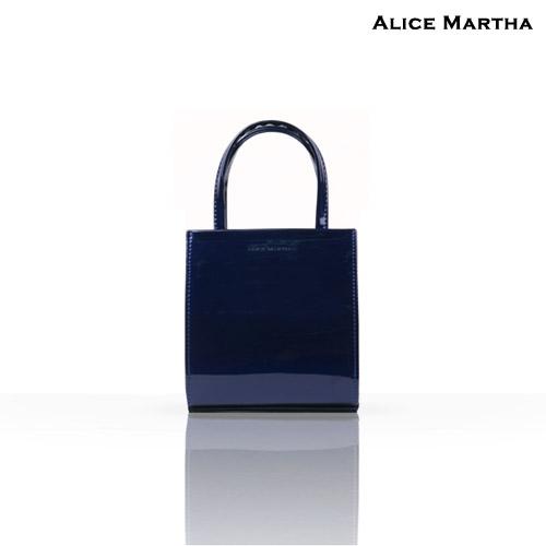 앨리스마샤 - 벨리오(Belio) Blue 크로스백 숄더백 에나멜 미니백