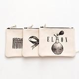 [옐로우스톤] 캔버스 파우치/클러치백 3종 YG1001 가방 손가방