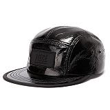 [피스메이커]PIECE MAKER - PIECE BOX GLOSSY CAMP CAP (BLACK) 캠프캡 모자