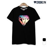 [크루클린] CROOKLYN 스페이스 다이아몬드 반팔 티셔츠 TRS157 반팔티