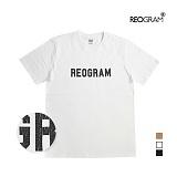 [리오그램] REOGRAM   OG CRACK T-SHIRTS(White) 크랙 티셔츠 반팔티
