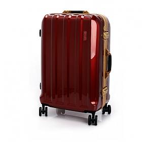 [유랑스]프리미엄 여행가방 202-28 수화물용 버건디 하드캐리어 여행용 캐리어 28인치