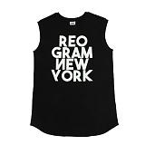 [리오그램] REOGRAM   OG NEW YORK TANK TOP(Black)뉴욕 탱크 탑 나시
