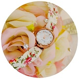 [씨엑스엑스]CXX - KNOT WATCH - FLOWER RED