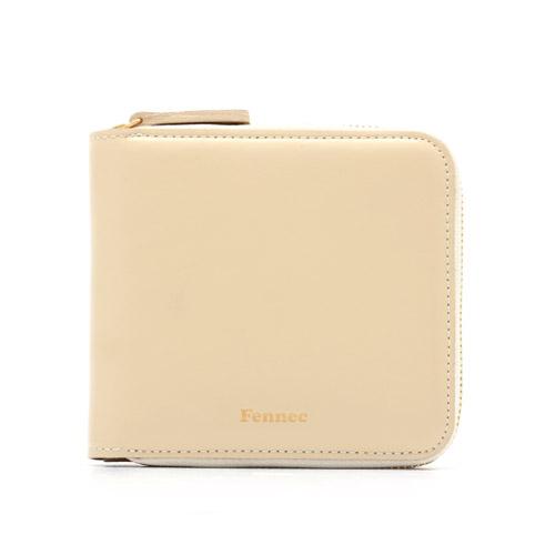 [페넥]Fennec Double wallet 002 Ivory 더블 월렛 지퍼 지갑