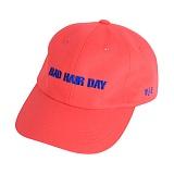 벨즈 - BHD 6 PANEL CAP CORAL PINK 볼캡 모자 야구모자