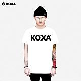[코싸] koxa logo short 15 white 반팔티