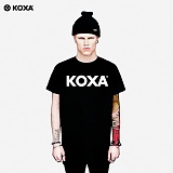 [코싸] koxa logo short 15 black 반팔티