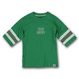 [AUB]에이유비 - DTM green 반팔 반팔티 티셔츠 5부티 럭비티 풋볼티