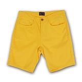 [AUB]에이유비 - JUST shorts yellow 바지 반바지 숏팬츠
