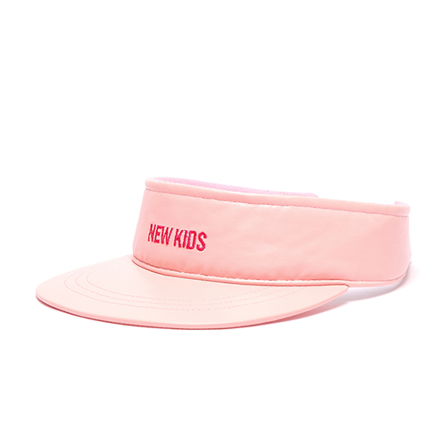[피스메이커]PIECE MAKER - NEW KIDS LEATHER SUNCAP (INDI PINK)_썬캡