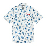 [스티그마]STIGMA - PINEAPPLE WORK SHIRTS IVORY 반팔남방 워크셔츠 셔츠